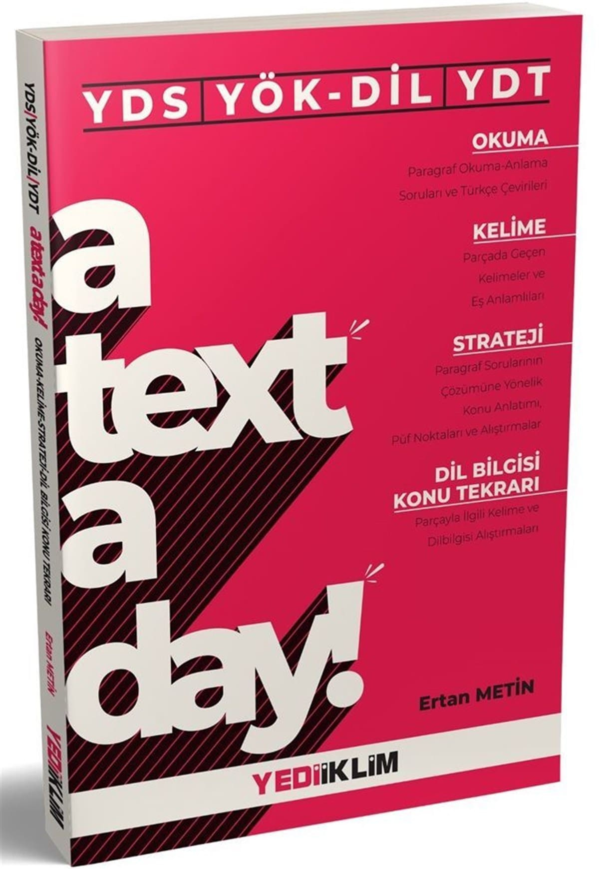 YDS YÖKDİL YDT A Text A Day Okuma