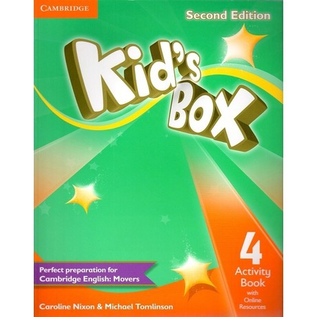 Kid's Box Second Edition Level 4 Activity Book With Online Resources