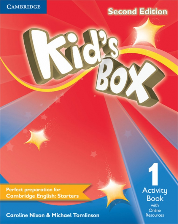 Kid's Box Second Edition Level 1 Eğitim Seti: Pupil's Book + Activity Book with Online Resources