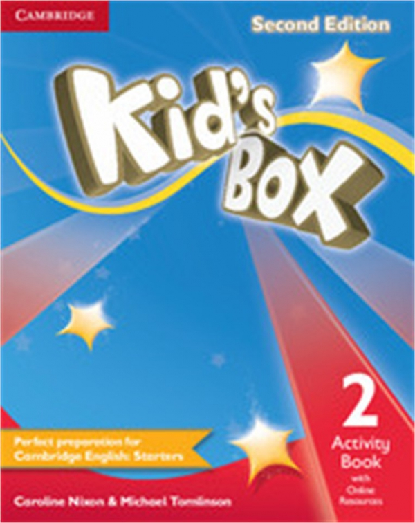 Kid's Box Second Edition Level 2 Eğitim Seti: Pupil's Book + Activity Book with Online Resources